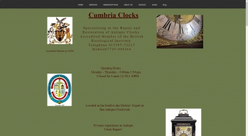 Cumbria Clocks