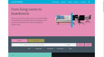 Property consultants   Estate agents and Letting agents in the UK   Cluttons
