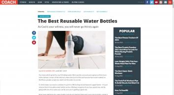 The Best Reusable Water Bottles | Coach