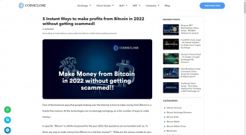 5 Instant Ways to make money from Bitcoin in 2020 without Scammed