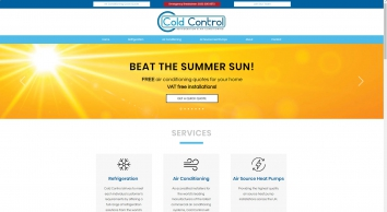 Air Conditioning & Refrigeration Services   Cold Control