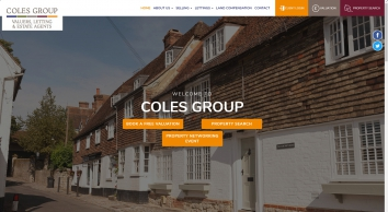 The Coles Group Estate Agent covering Maidstone and the Weald of Kent.