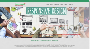 Community Web Initiative  |  Web Design Manchester  |  Mobile Responsive Design - Manchester Community Web Initiative