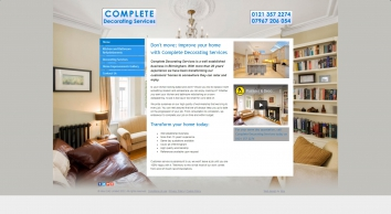 Complete Decorating Services