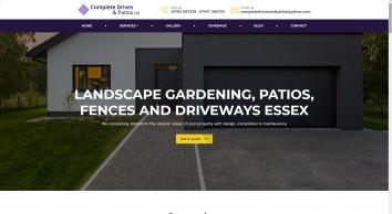 Complete Drives & Patios | Driveways, Patios & Fences Essex