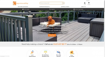 Composite Wood Shop | Composite Wood Decking Kits Kent