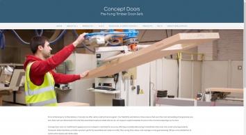 Concept Doors Is a supplier of pre-hung doorsets to the construction industry. - Concept Doors Ltd