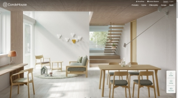 CONDE HOUSE EUROPE   Eigenständiges Design   Handwerk in höchster Perfektion   Möbel aus Japan