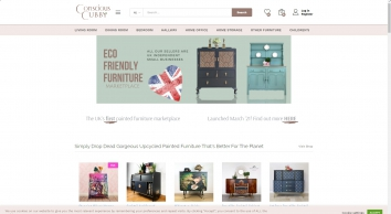 Conscious Cubby Luxury Painted Furniture For Sale