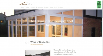 Timberlite conservatory roof kits