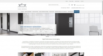 Cooke Brothers Limited - manufacturers of High Performance Ironmongery