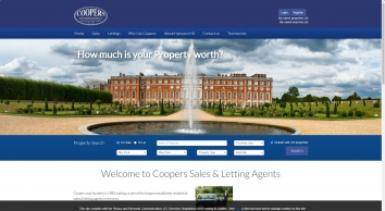 Coopers was founded in 1983 making us one of the longest established residential sales & letting age