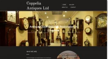 Antique Clock Repair Cheshire|Coppelia Antiques Ltd