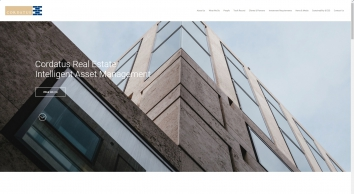 Cordatus Real estate fund and asset management