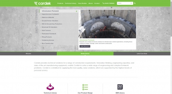 Cordek Limited specialise in providing technical solutions for a range of construction requirements | Cordek