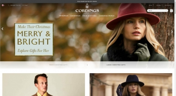 Cordings: Country Clothing & Tweed Jackets | British Country Wear