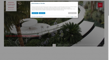 DuPont™ Corian® solid surfaces, Corian® - DuPont™ Corian® solid surfaces, Corian®