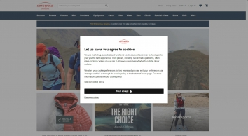 Outdoor Clothing & Equipment | Cotswold Outdoor