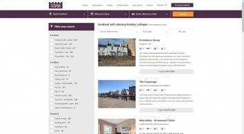 Search for holiday cottages in Scotland | Cottages & Castles