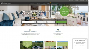 Holiday Cottages to Rent - UK Self-Catering Holidays | cottages.com