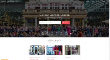 Covent Garden - Shops - Food - Pubs In London