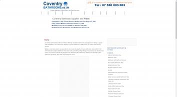 Coventry Bathrooms Ltd