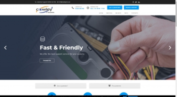IT Support Portsmouth. Cowley IT. Computer Repair Havant.