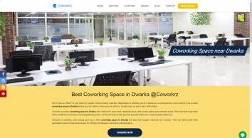 Coworking Space in Dwarka |  Shared Office Space for rent | Commercial office space coworkrz.com