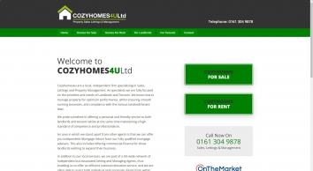 cozyhomes4u Estate and Letting Agents in Tameside