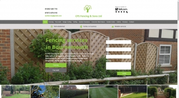 Fencing Services     Bournemouth    C.P.S Fencing & Treework Ltd