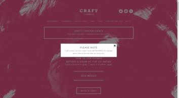 Craft London; British Restaurant, Bar & Café by Stevie Parle