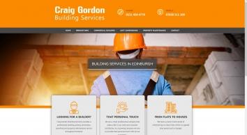 Craig Gordon Building Services Sponsored