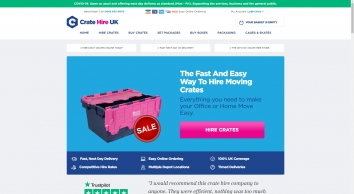 Crate Hire UK - Crate Rental for Moving Home & Office - London & UK