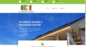 Create Building Joinery & Preservation Ltd