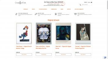 Buy Exclusive Original Art & Signed Prints Online | CreativeFolk