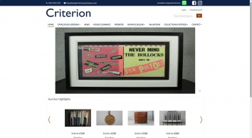 Criterion Auctioneers