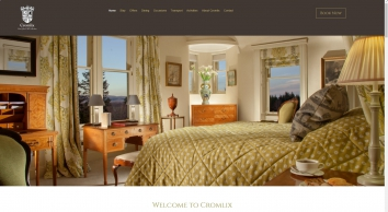 Cromlix Luxury Hotel Scotland, Perthshire, Andy Murray, Chez Roux