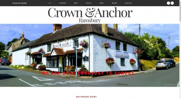 Crown & Anchor | Public House & Rooms | Ramsbury