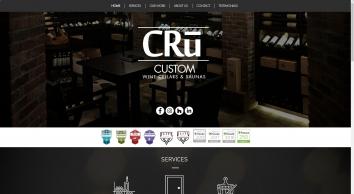 CRu Custom Wine Cellars and Saunas