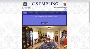 Furniture restoration and repair in Hampshire at C S Embling