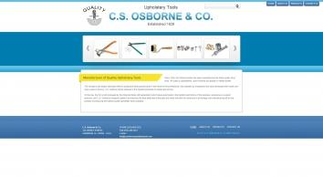 C.S. Osborne Upholstery hand tools