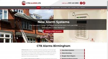CTB Alarms LTD Burglar Alarms Installations & Repairs Birmingham