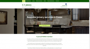 Bespoke joinery in Chelmsford & Upminster from C.T. Joinery