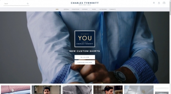 Charles Tyrwhitt for Men\'s Shirts, Suits, Ties, Shoes & Accessories from Jermyn Street, London
