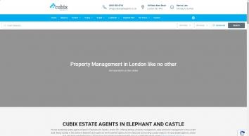 Cubix Estate Agents – Elephant and Castle – Estate Agents in London