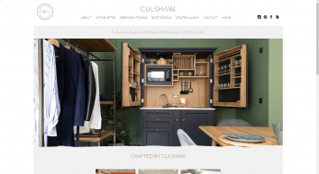 Bespoke handmade kitchens & kitchenettes by Culshaw Kitchen Makers Lancashire