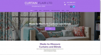 Curtain Flair for curtains and blinds and in Bristol