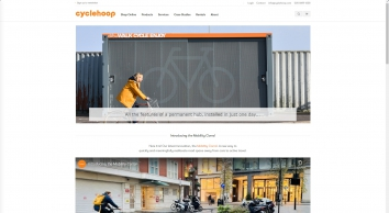 Award-winning cycle parking and infrastructure