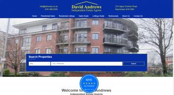 David Andrews Homes Ltd, Manchester