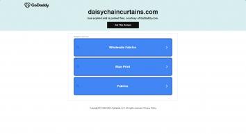 Daisy Chain Curtains